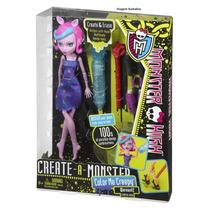 Monster High Conjunto Crie Seu Monstro Boneca Lobisomem