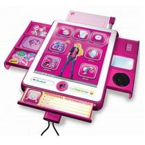 B Book Pad Organizador Interativo Da Barbie Conecta Mp3
