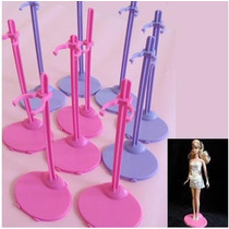 Suporte Para Barbie C/ 5 Roxo. Entrega Imediata!!!