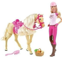 Barbie E Tawny Seu Cavalo Que Anda De Verdade! Eua Ja No Rj
