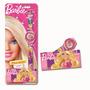 Relógio E Case Pink Da Barbie 5 Funções Infantil Menina Fun