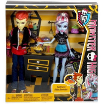 Monster High - Home Ick - Abbey Bominable & Heat Burns