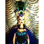 Barbie Rainha Peacock- Ooak - Única!