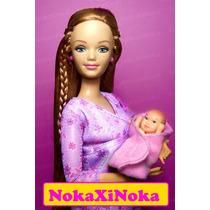 Bebezinho Para Boneca Barbie * Bebê De Colo * Mamãe Gravida