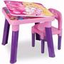 Barbie Mesa Baú Com Cadeira Fun Mattel + Cadeira
