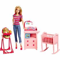Boneca Barbie Berçário Coleção Profissões - Mattel 054620