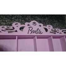 Expositor Barbie Monster High C/acrílico Prateleira Nicho