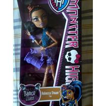Monster High Robecca Steam Dance Class Aula De Dança Boneca