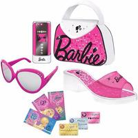 Kit Fabuloso De Moda Da Barbie Celular Bolsa Óculos Intek