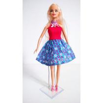 Kit Com 10 Suportes Para Bonecas, Barbie, Monster High