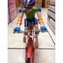 Boneco Ciclista Bicleta Anda Faz Barulho