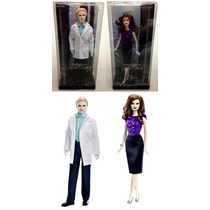 Kit Barbie Collector Original Crepúsculo : Carlisle + Esme