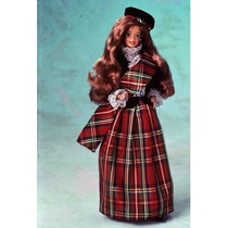 Boneca Barbie Of The World Of Scottish 1990 Escócia Ma 09845