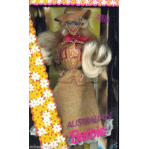 Boneca Barbie Of The World Australian Ano 1992 Mattel 3626
