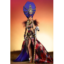 Boneca Collector Barbie Tribal Beauty Global Glamour 2013