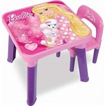 Mesa Com Cadeira Barbie Bb6000 Fun
