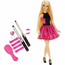 Barbie Cabelos Cacheados - Mattel Bmc01