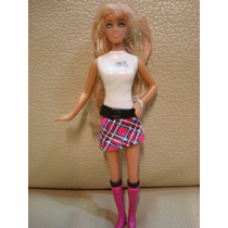 Boneca Brinquedo Mini Barbie Loira Minissaia Mc Donald