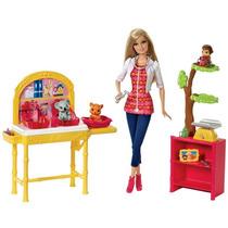Barbie Profissões - Barbie Veterinária, Zoológico
