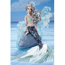 Barbie The Mermaid Sereia Collector Fashion Moda Gold Label