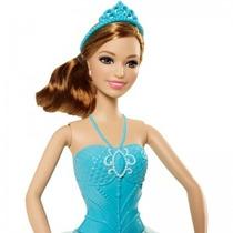 Boneca Barbie Bailarinas Cff44 - Mattel