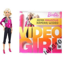 Boneca Barbie Video Girl Que Filma De Verdade Mattel R4093