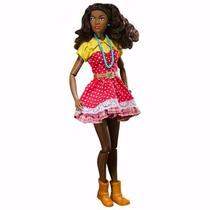 Boneca Prettie Girls Kimani Negra Barbie Articulada