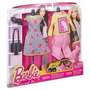 Barbie Fashions Look 2-pack Fashionistas Cartela Roupa Style