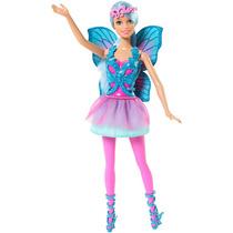 Boneca Barbie Mix & Match Fadas Azul - Mattel