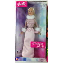 Promoção Barbie Twilight Gala 2003 Antiga Vintage Vestido