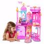 Casa Castelo De Luxo Rosa Da Barbie - Vários Andares +brinde
