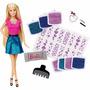 Barbie Glitter No Cabelo Lacrada Sem Juros Original Mattel
