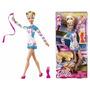 Barbie Quero Ser Ginasta Mattel W3766 Na Caixa Brinde Bijoux