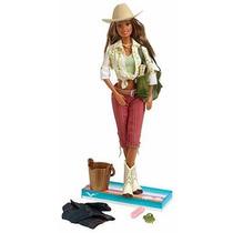 Barbie Cowgirl Cali Girl California Loira Bronzeada Cavalo