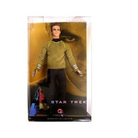 Barbie Collector Captain Kirk - Capitão Kirk - Star Trek