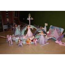 Barbie A Magia De Aladus - Coleção Com Castelo Annika Briett