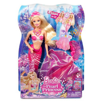 Boneca Barbie Sereia Das Pérolas Bdb45 - Mattel