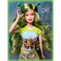 Barbie Love Shrek - Ed. 2008 - Pink Label - Mattel - Movie
