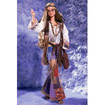 Barbie Peace & Love - Paz E Amor - Anos 70 - Mattel - Novo