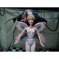 Boneca Barbie Fada Borboleta Antiga Mattel 2005