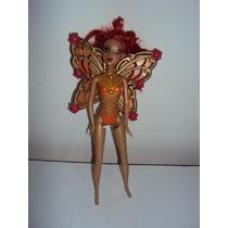 Boneca Barbie Fada Solaris Fairytopia Mattel 2006