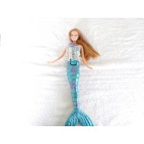 Boneca Barbie Sereia Mattel 2009