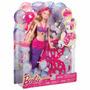 Boneca Barbie Sereia Bolhas Mágicas Mattel
