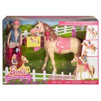 Barbie Cavalo De Equitação Novo Mattel Original
