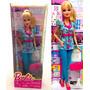 Boneca Barbie Quero Ser Enfermeira Original Mattel Médica