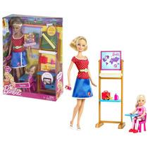 Boneca Barbie Quero Ser Professora - Mattel - W3745