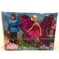 Casal Barbie Borboleta Butterfly E Principe Carlos Original