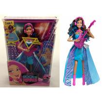 Boneca Barbie Erika Musical Rock