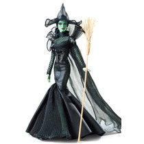Bruxa Má Glamou O Magico De Oz Barbie Collector Boneca Filme
