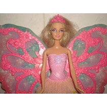 Boneca Barbie Fada Asas Mágicas Borboleta - Mattel 2011.